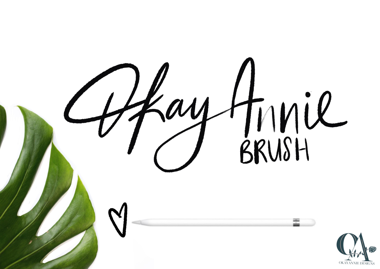 OkayAnnie Procreate Textured Brushes example image 10