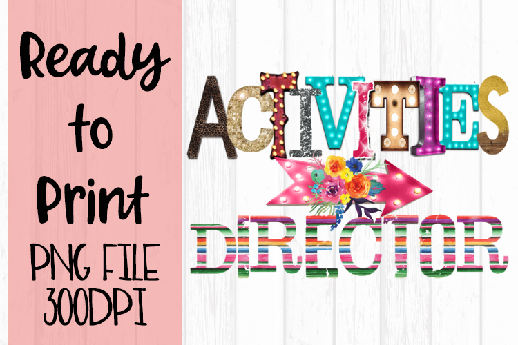 Activities Director Ready to Print example image 1