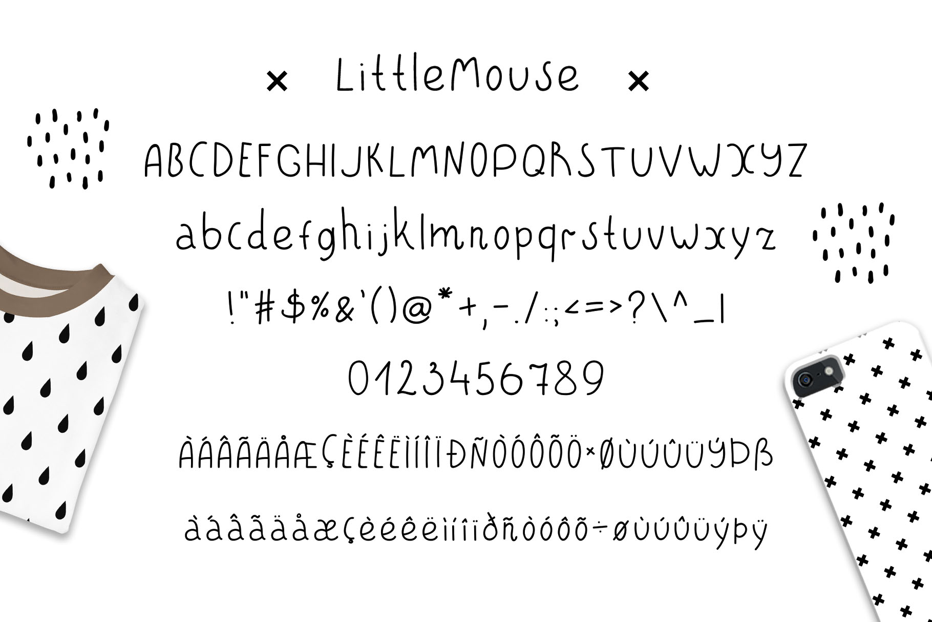 LittleBear & LittleMouse - Font Duo example image 5
