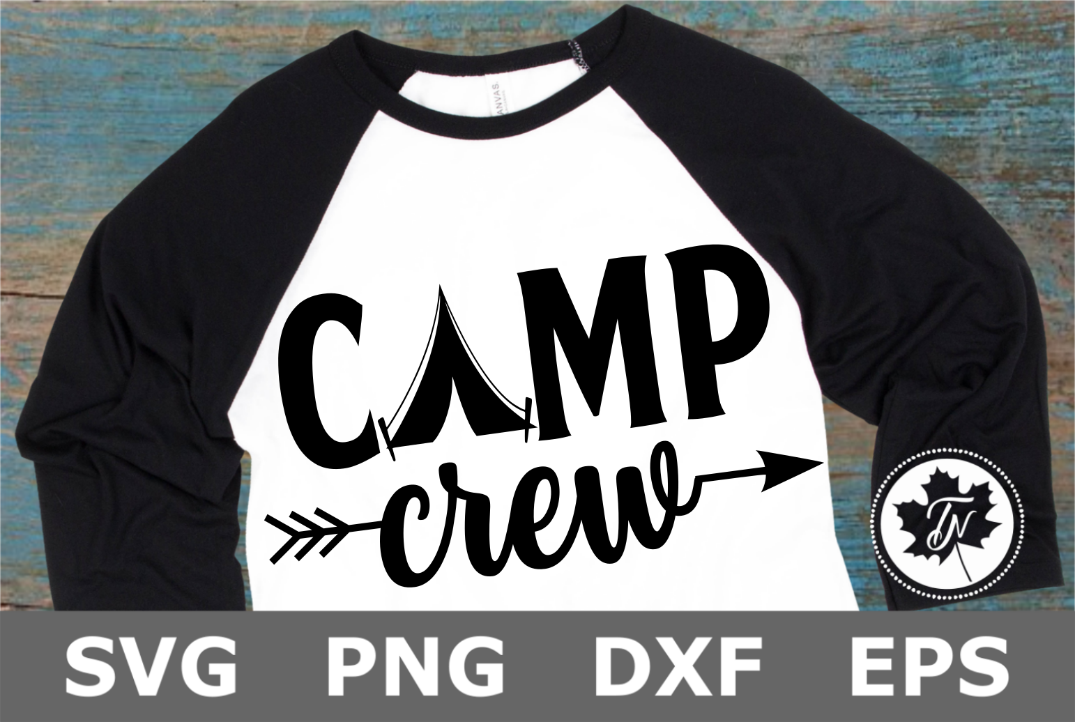 Camp Crew - A Camping SVG File example image 1