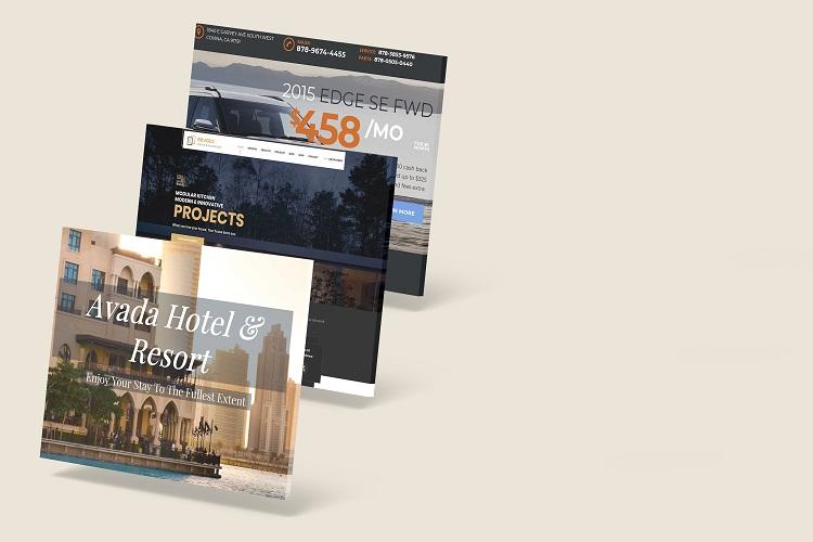 3D Web Showcase Mockup example image 6