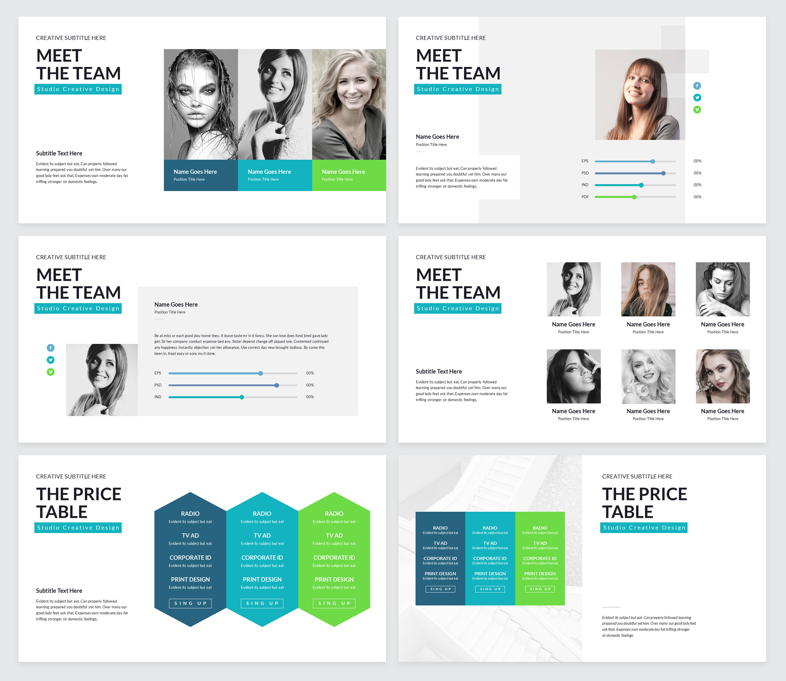 Rox Business PowerPoint Presentation Template example image 6