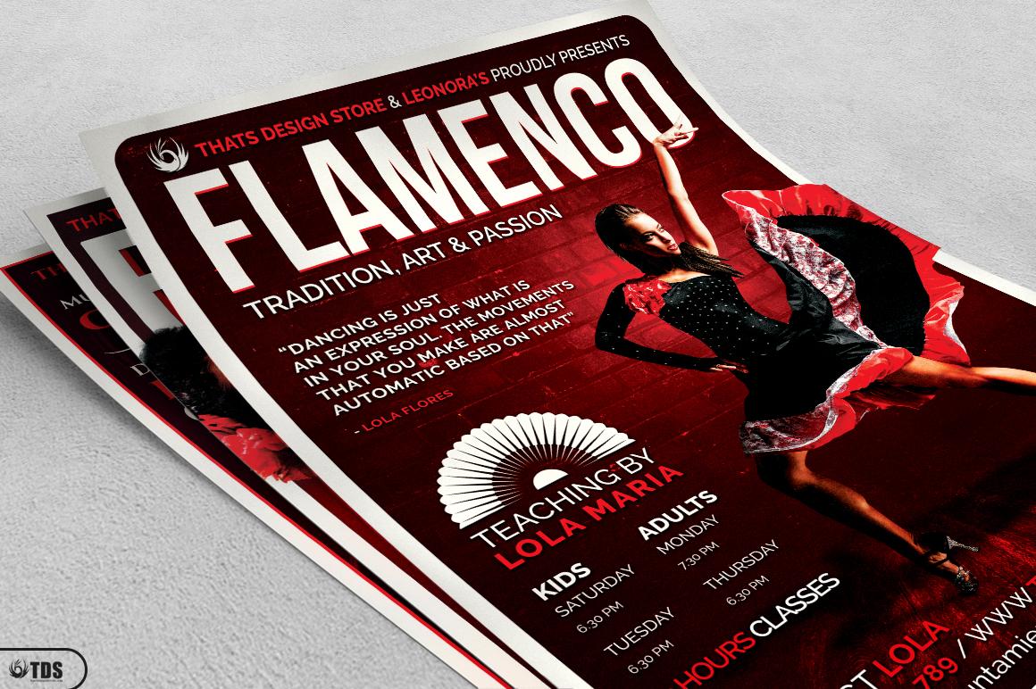 Flamenco Flyer Bundle V1 example image 4