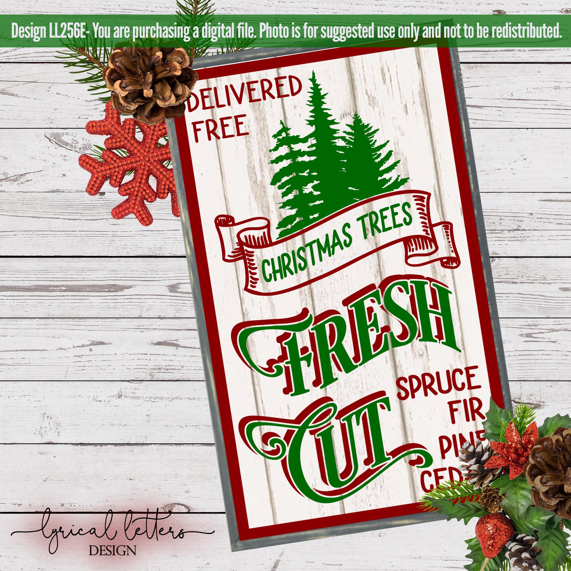 Farmhouse Christmas Bundle of 18 SVG Designs example image 8
