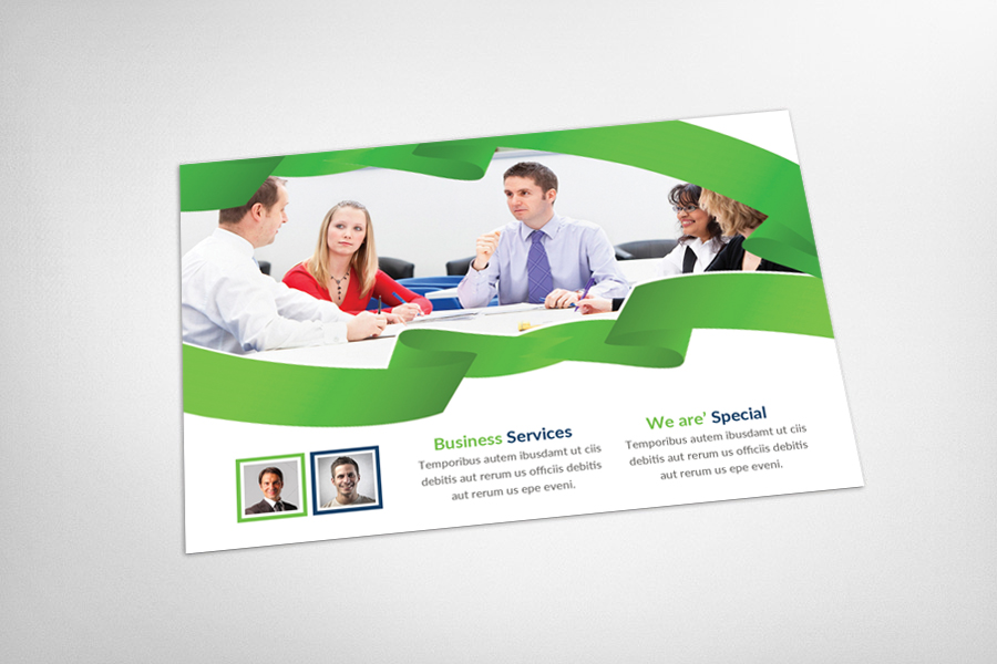 Smart Business Postcard Template example image 3