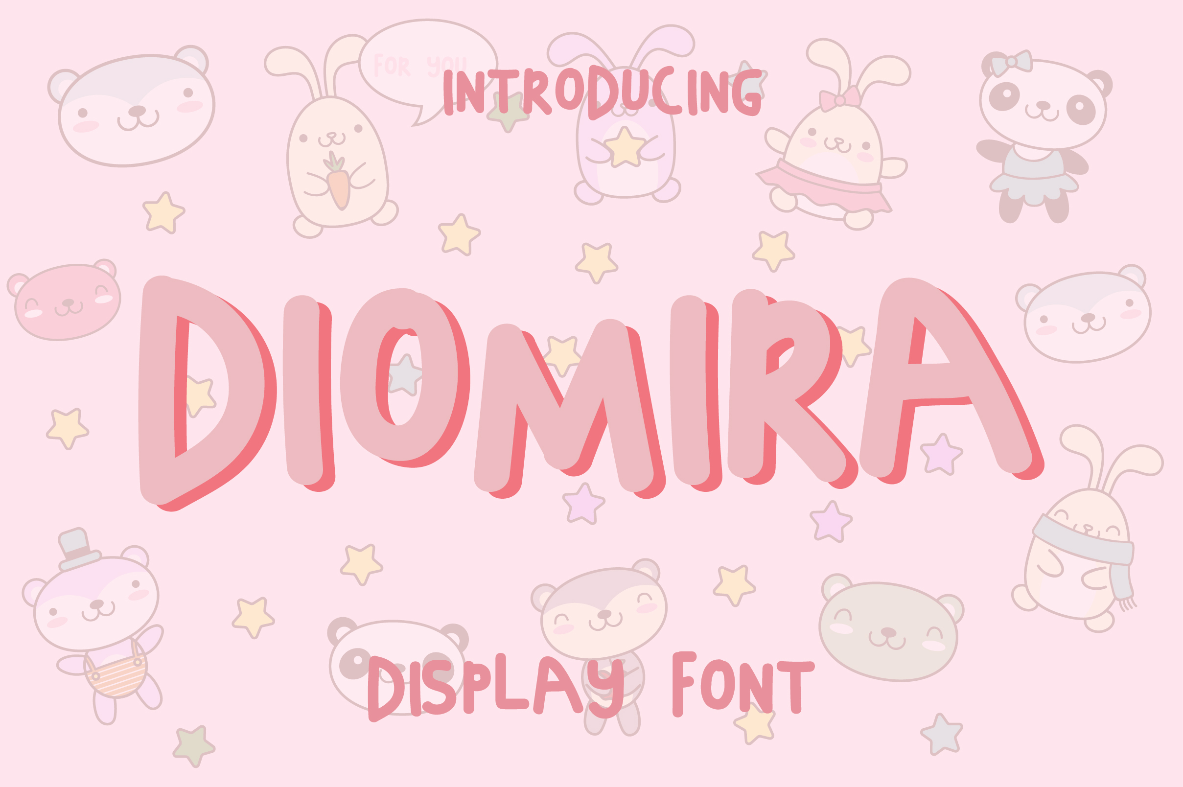 Diomira Display Font example image 7