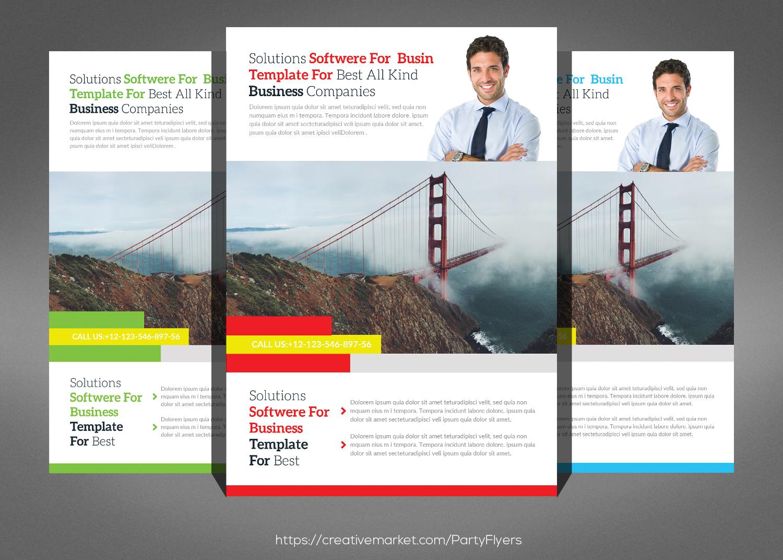 Corporate Business Flyer Bundle example image 3