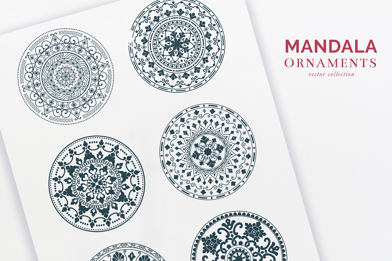 Mandala Ornaments example image 2