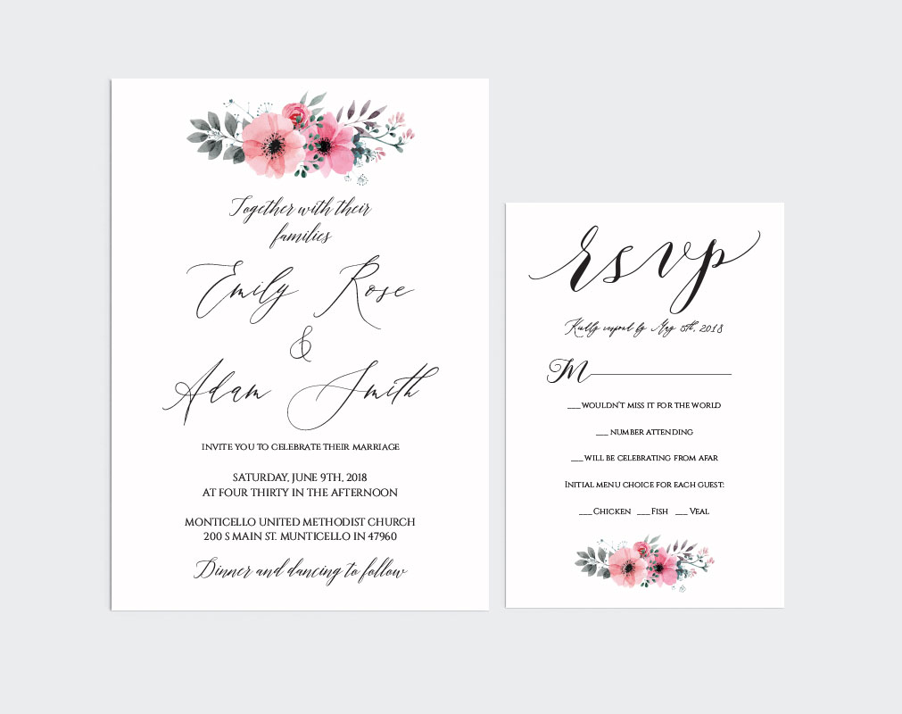 Wedding Invitation Template example image 2