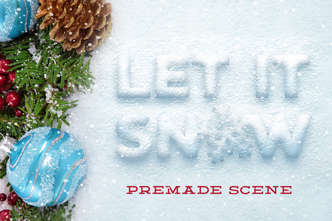 Snow & Ice Text Effects example image 3