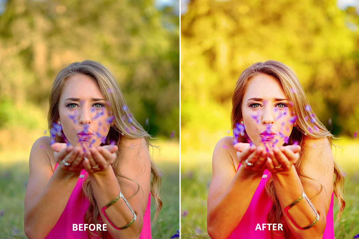 Hello October Photoshop Action example image 4