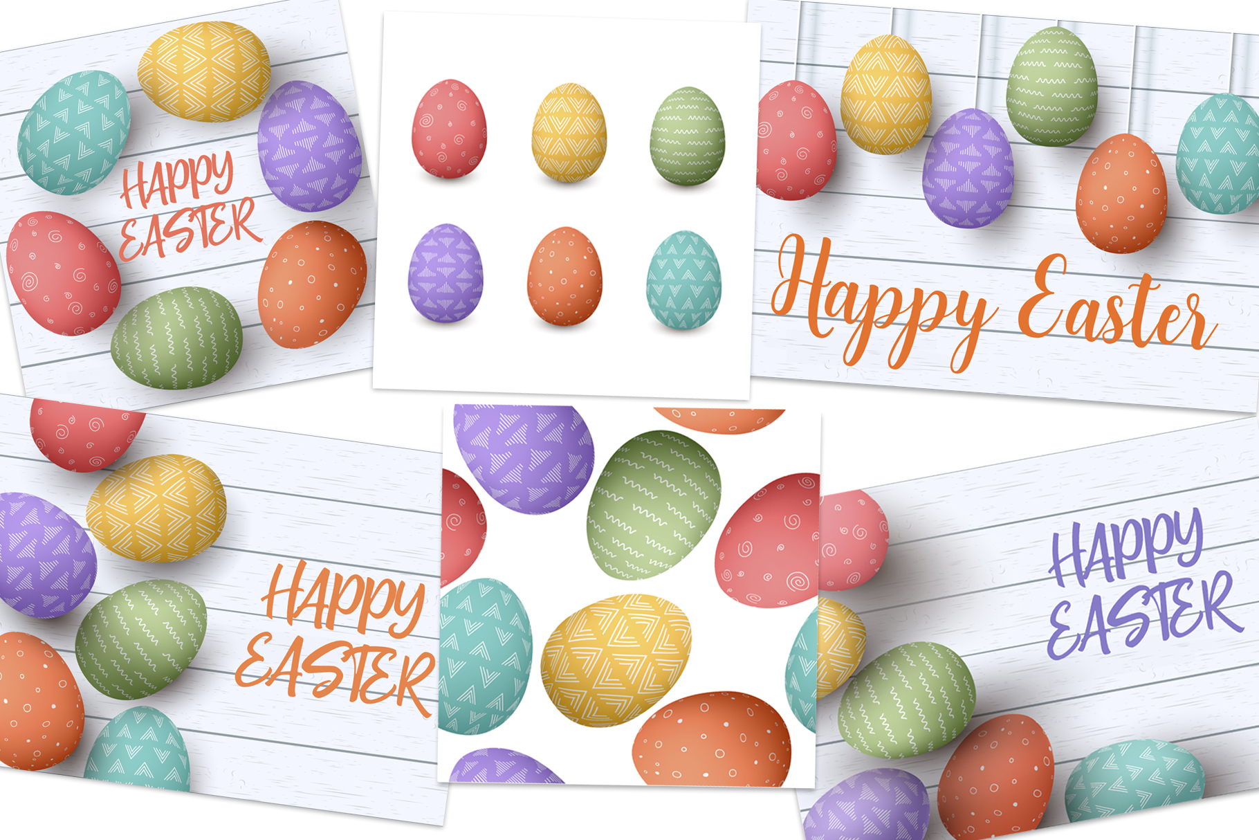 Happy Easter cards collection example image 2