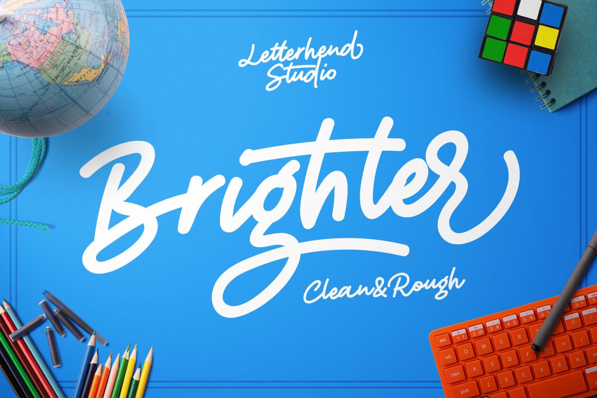 Brighter script example image 1