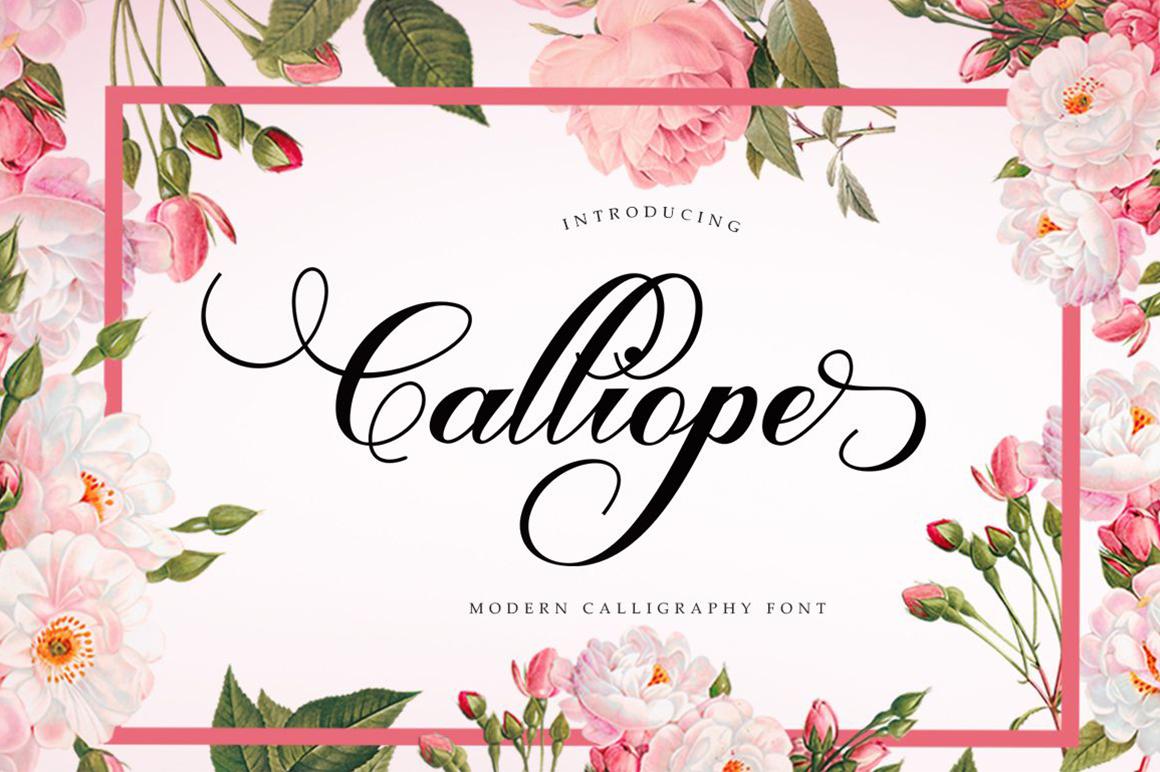 Calliope Script example image 1