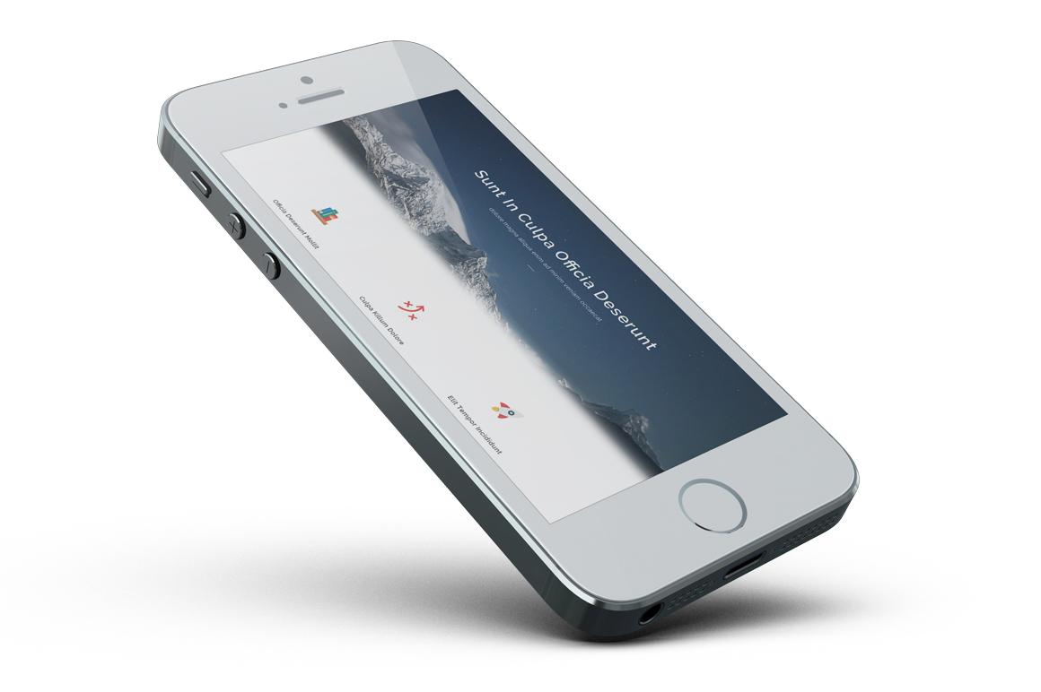 iPhone SE Mockup example image 17