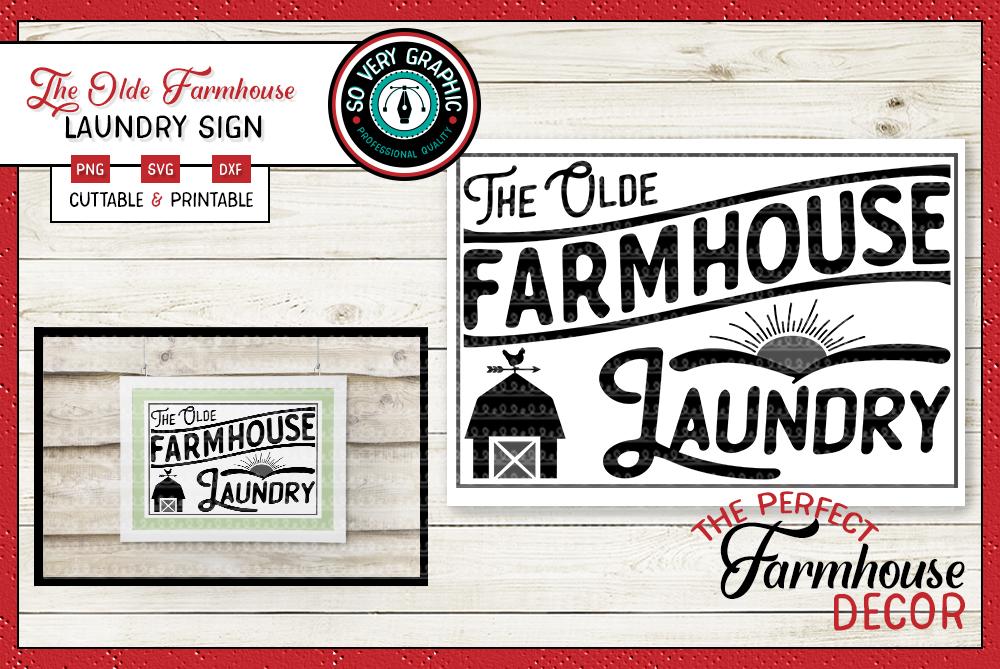 Vintage Farmhouse Bundle | Over 50 Designs | SVG Cut Files example image 28