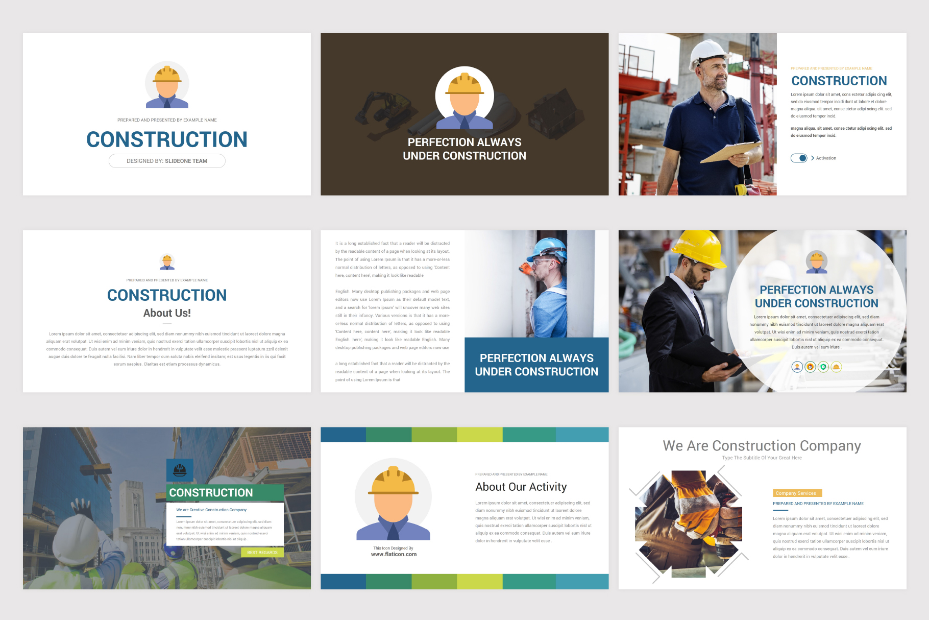 Construction Keynote Template example image 4
