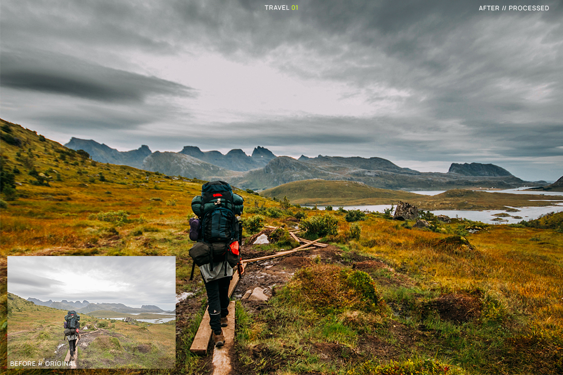 25 Travel Presets for Lightroom example image 3