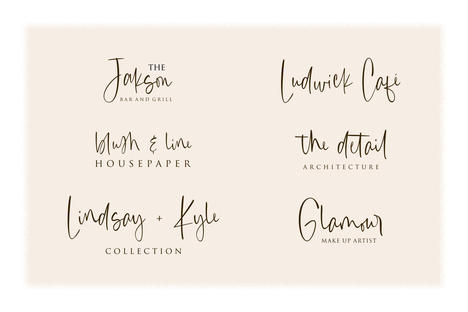 Canari   Signature Font example image 4