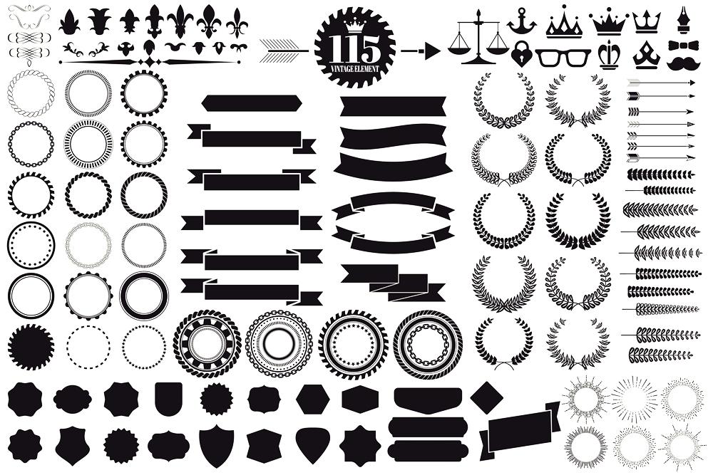 Vintage Logo Creation Kit example image 2