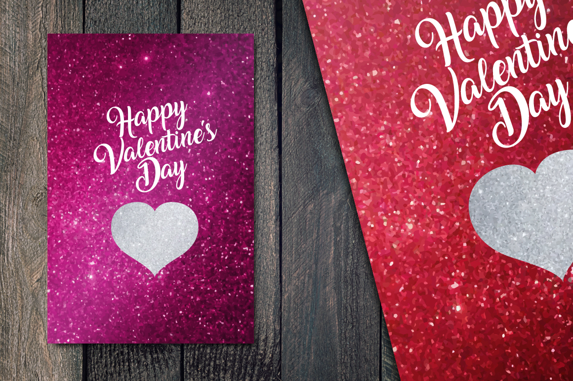 Valentines's Day greetings cards example image 2