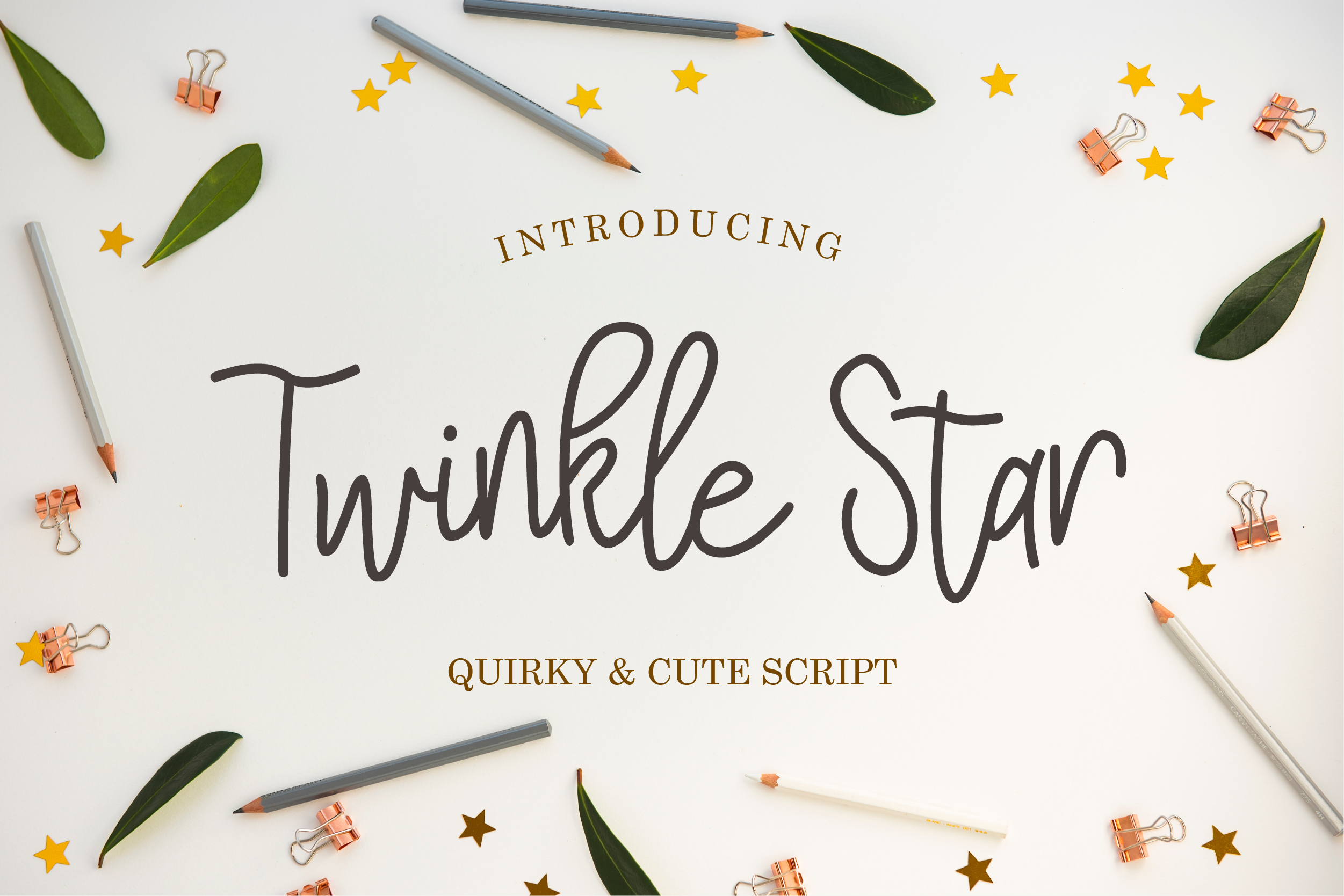 Twinkle Star Font example image 1