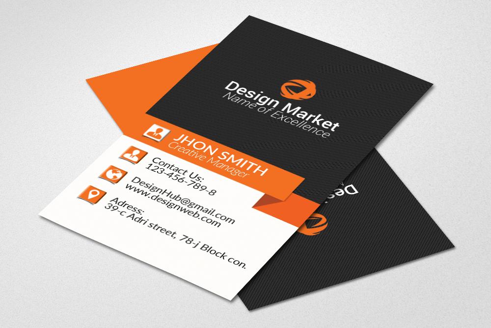 Vertical business cards design by desig design bundles vertical business cards design example image 1 reheart Gallery