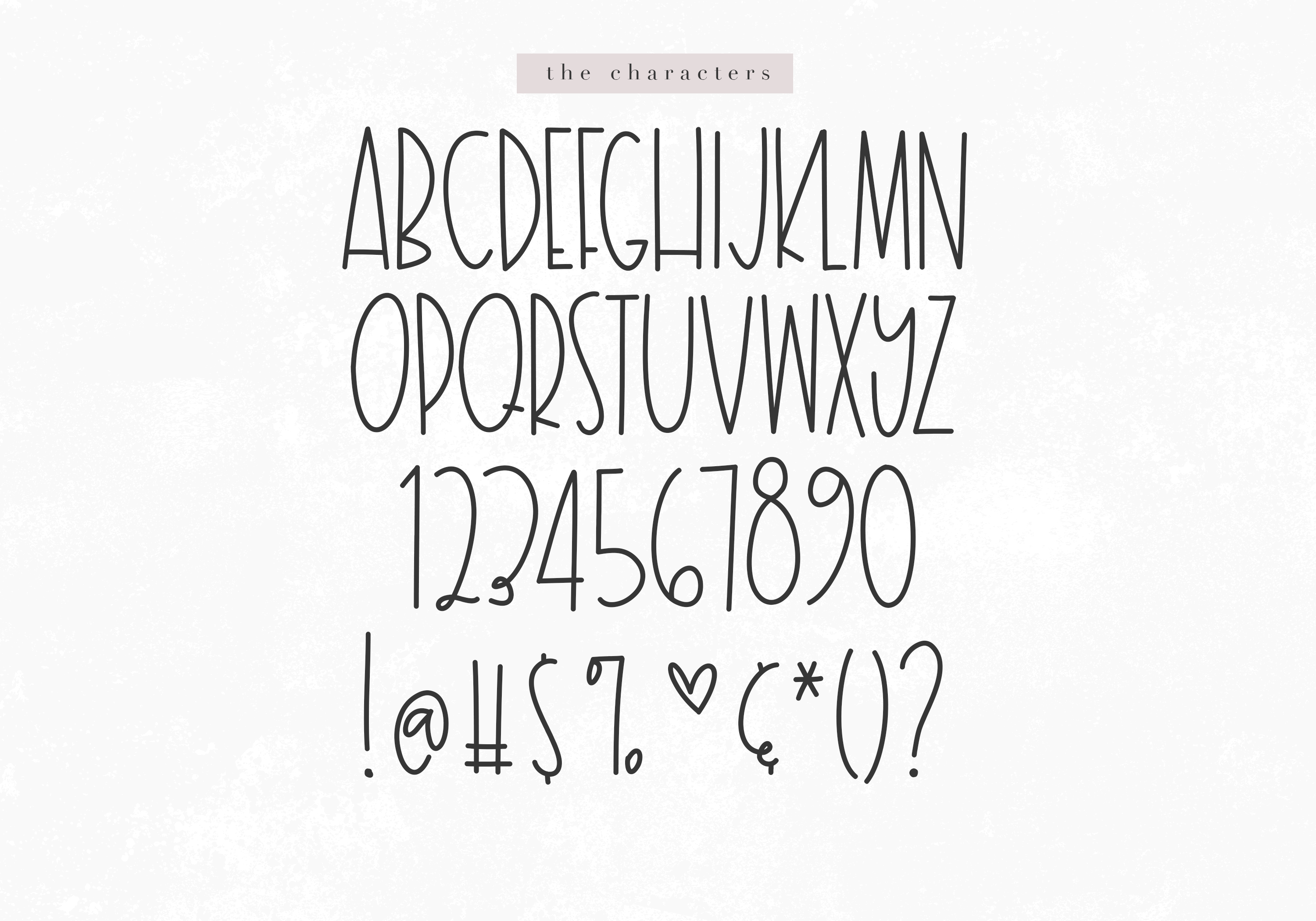 Milky Way - A Tall Handwritten Font example image 7