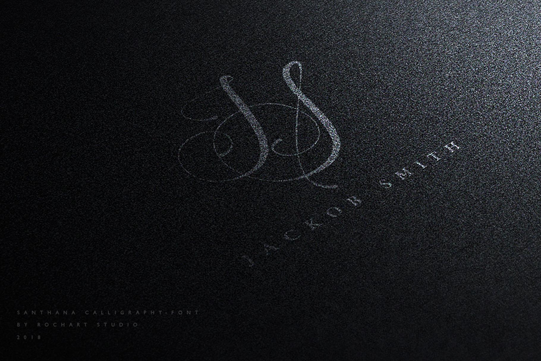 Santhana Calligraphy example image 7
