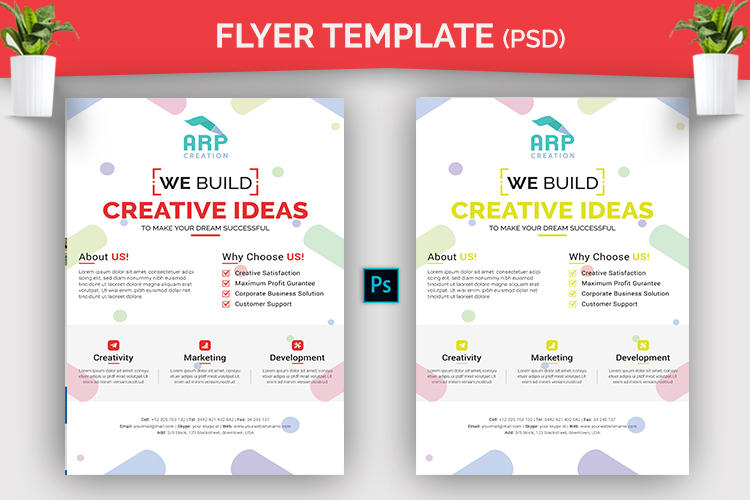 Creative Flyer Template example image 2