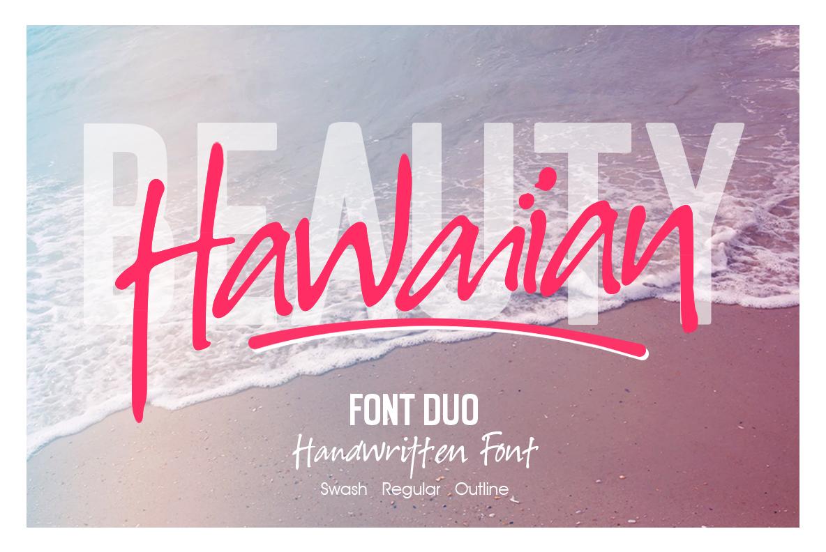 Hawaiian Font Duo example image 1