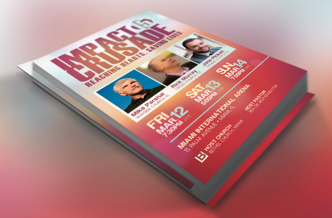Church Crusade Flyer Template example image 2