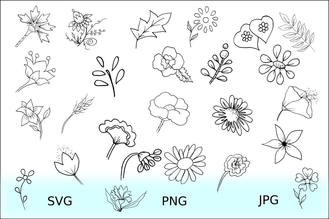 Doodles Cliparts Bundles example image 4
