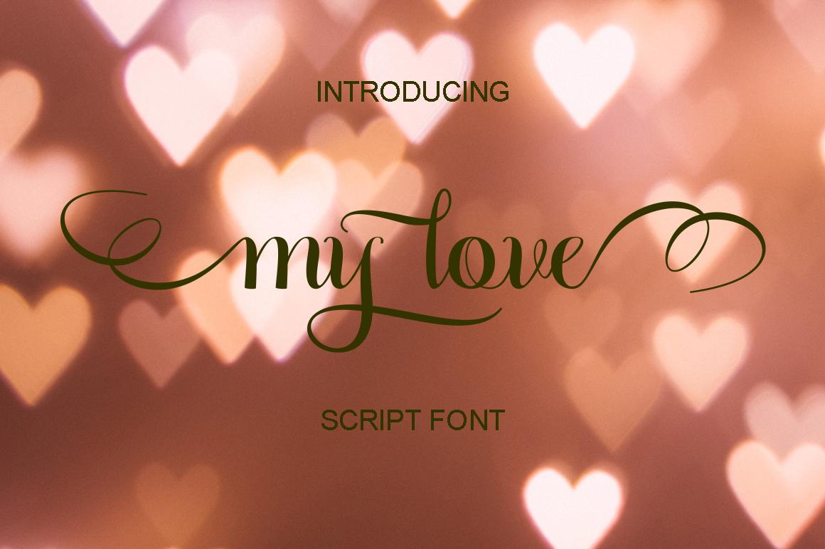 Calligraphy Script Bundle example image 17