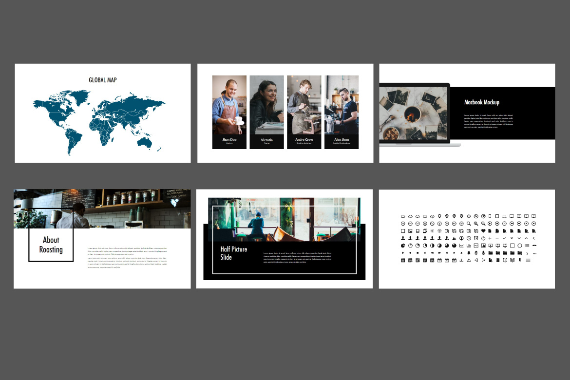 Roasting - Creative Powerpoint Template example image 3