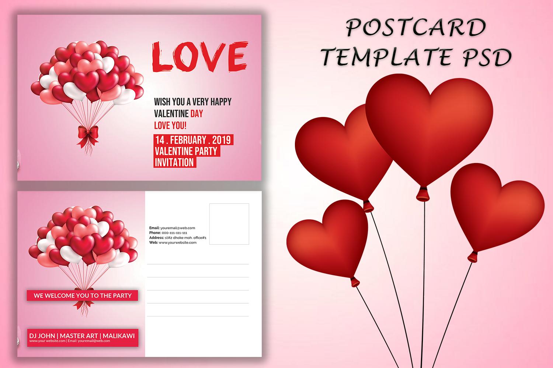 Valentines Invitation Card