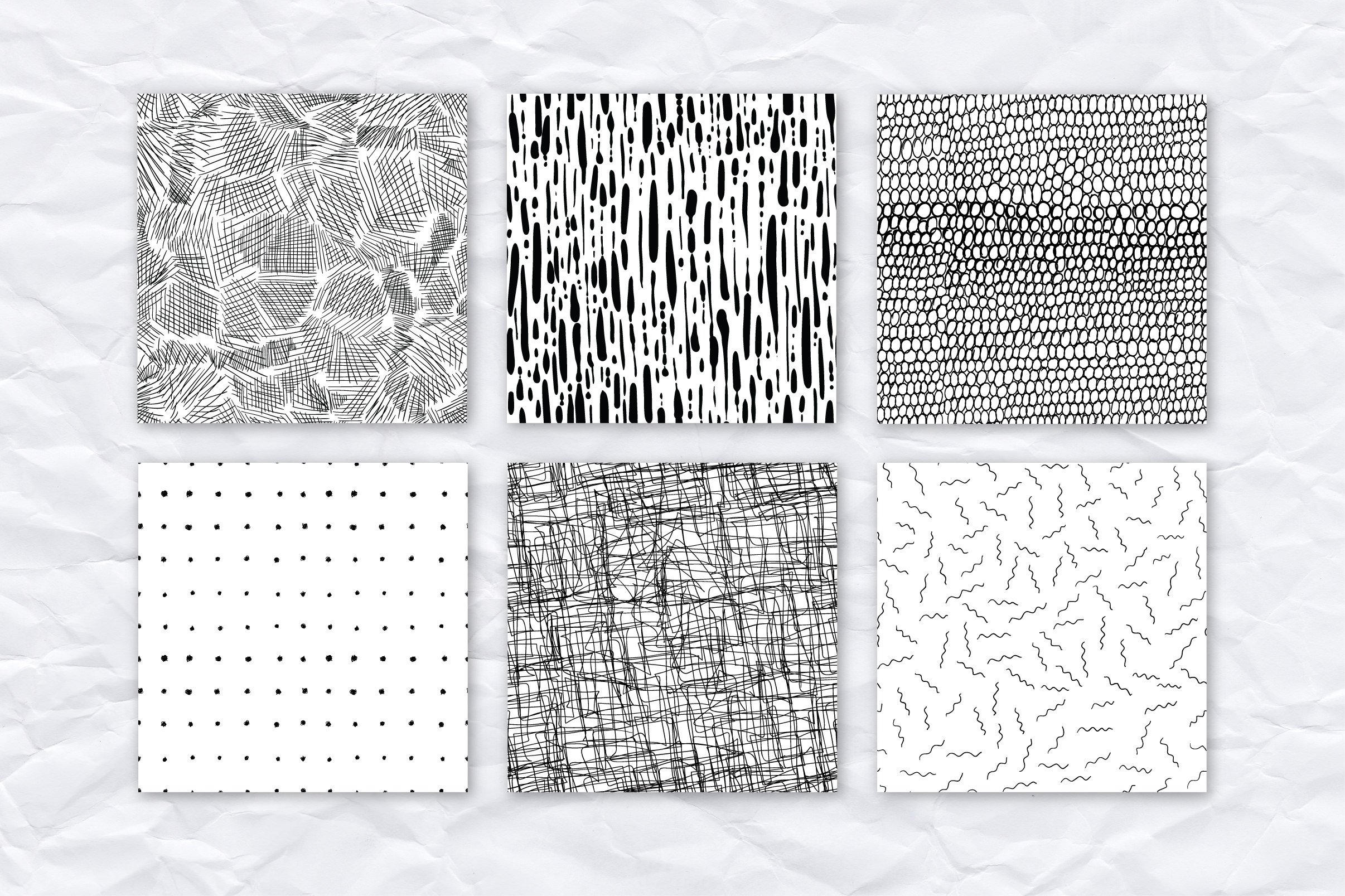 26 ink effect seamless patterns example image 4