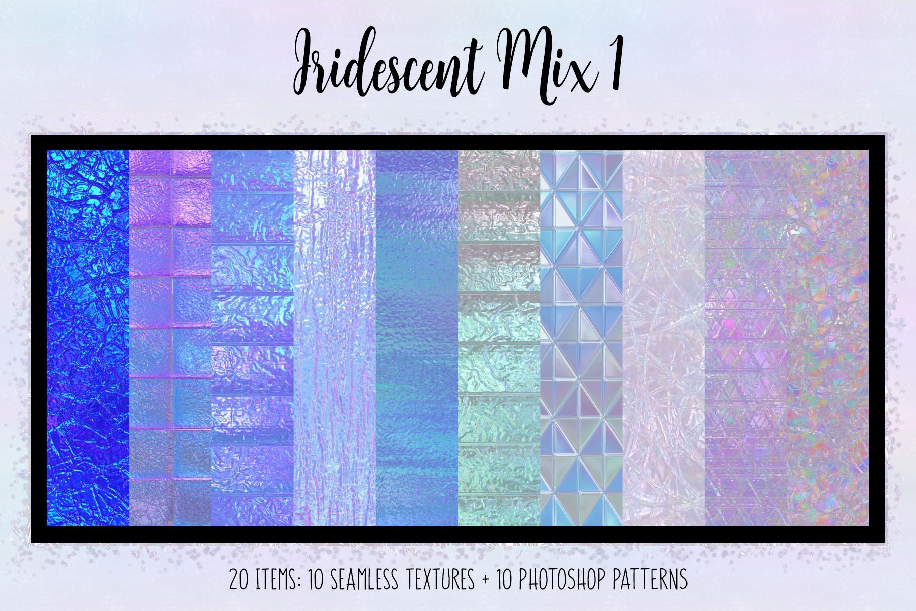 Iridescent Mix 1 example image 1