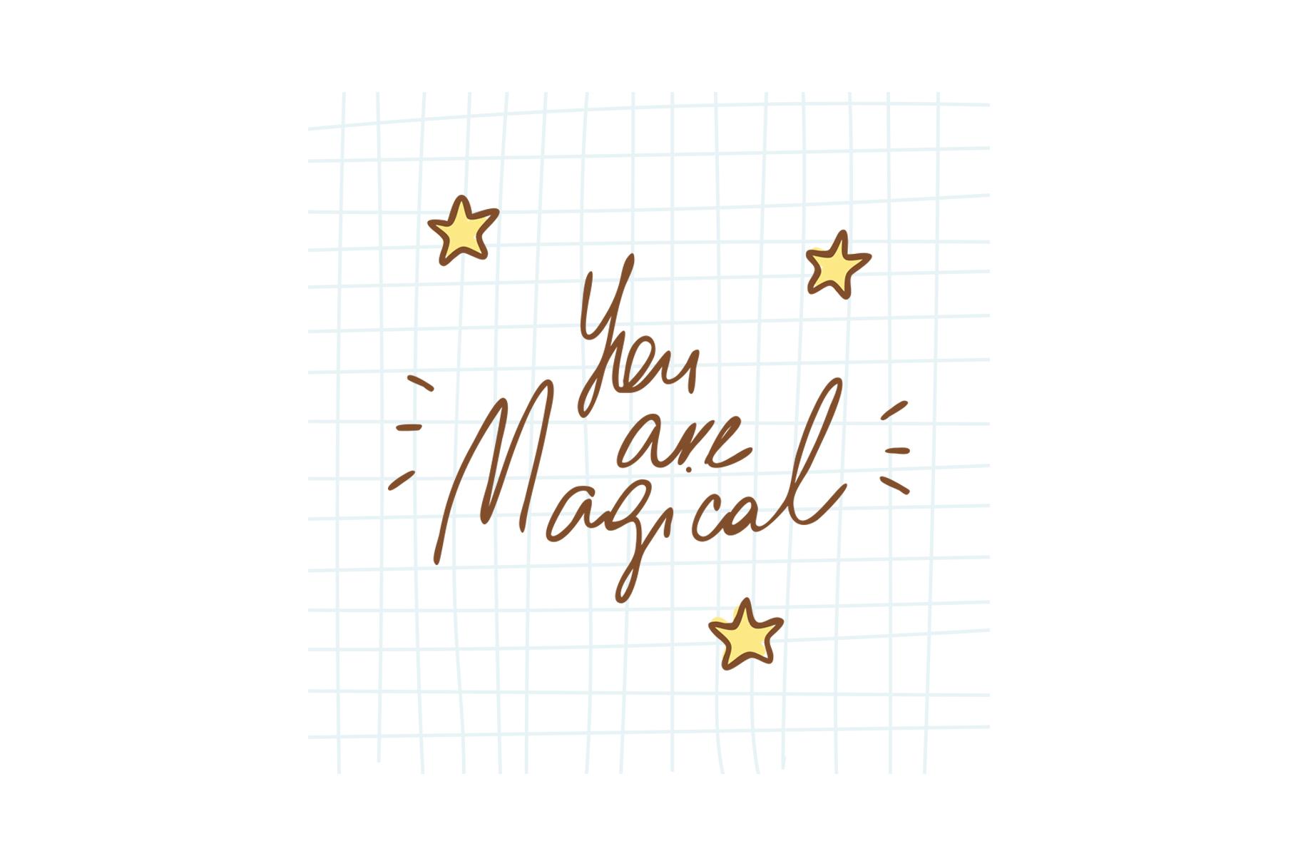 Magical unicorns set example image 8