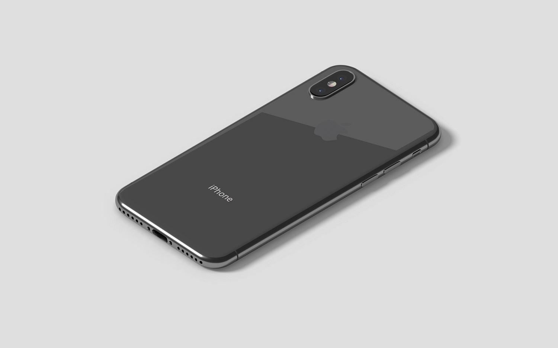 Isometric iPhone X Mockup example image 3