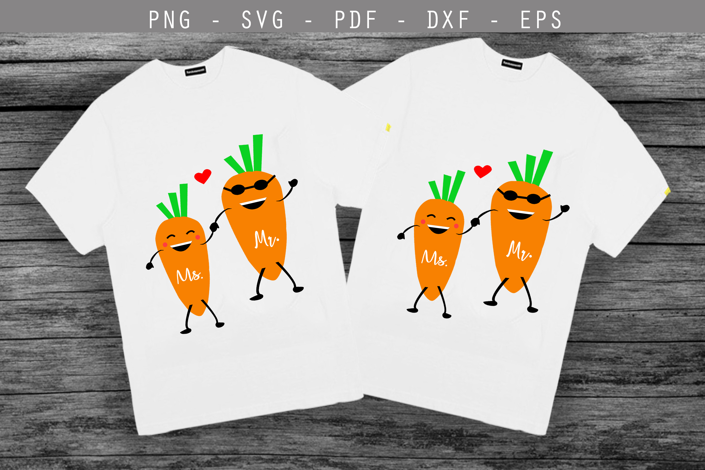 couple svg,love svg,carrot svg,she and he svg, mr mrs svg example image 1