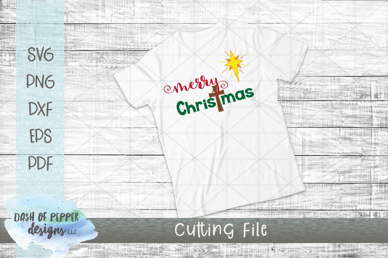 Merry Christmas SVG - A Christmas SVG example image 2