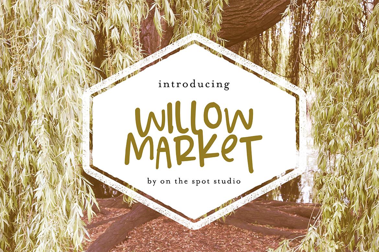 Willow Market + BONUS Script example image 1