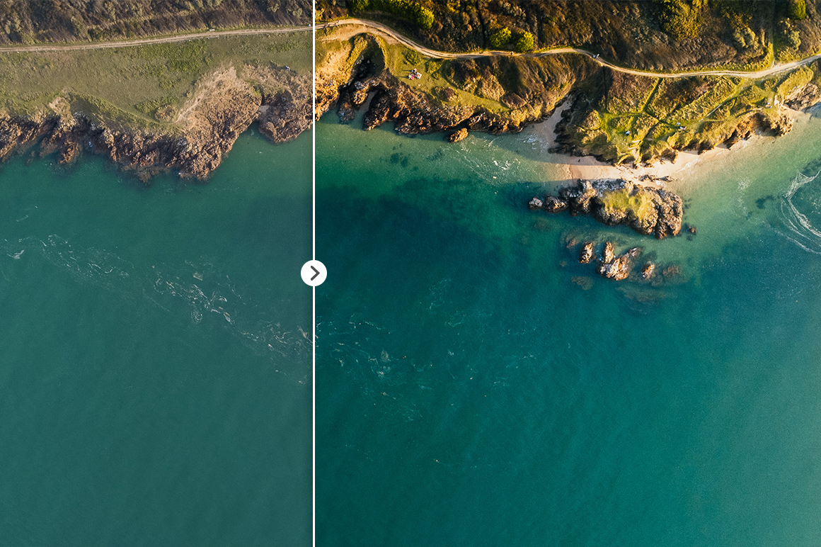 45 Lightroom Presets for Aerial Photography with Drones example image 18