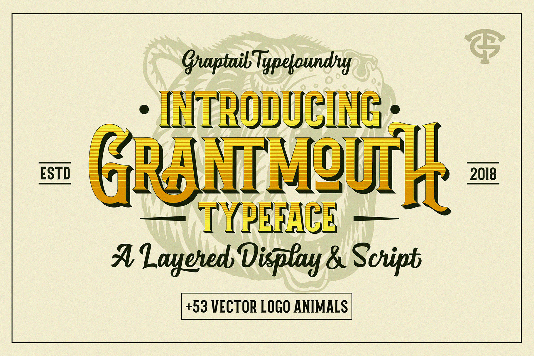 Grantmouth Font Duo Extras example image 1