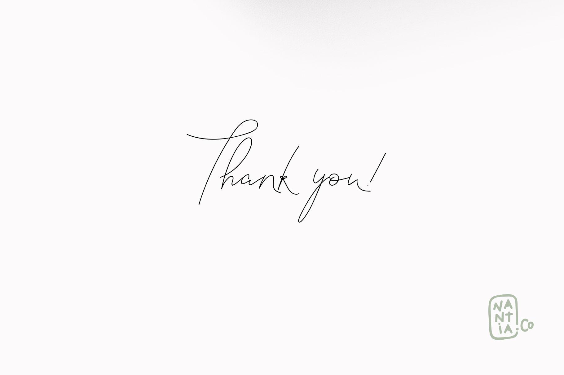 Signature Font Blanc Seing example image 16