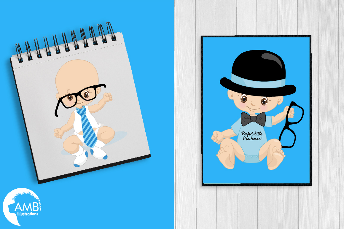 Little Man clipart, graphics, illustrations AMB-1291 example image 4