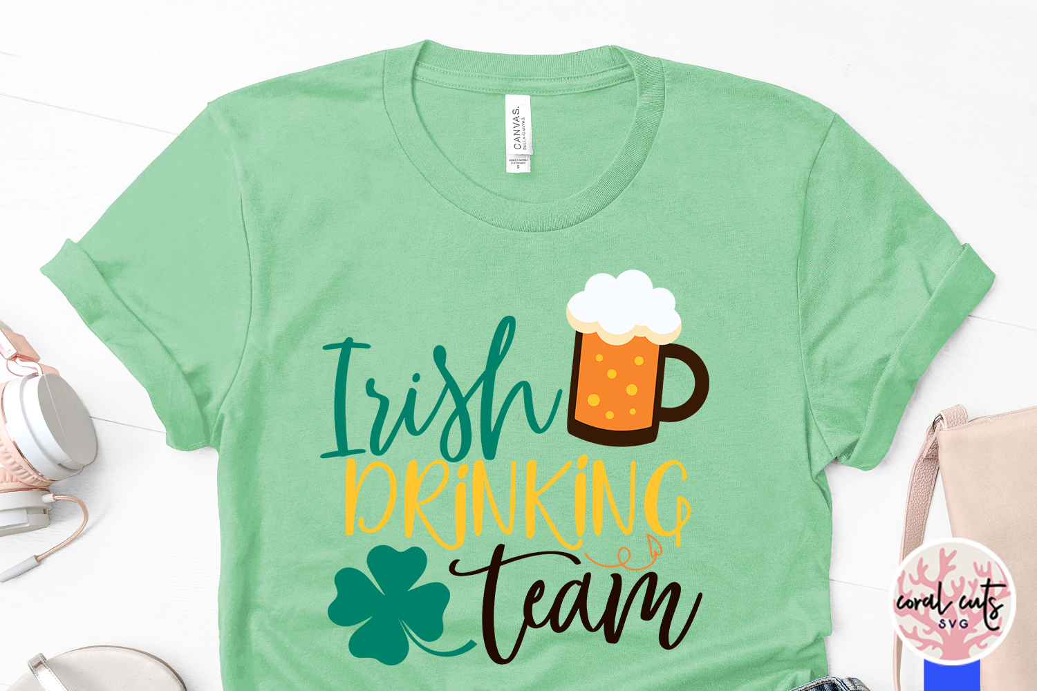 Irish drinking team - St. Patrick's Day SVG EPS DXF PNG example image 3