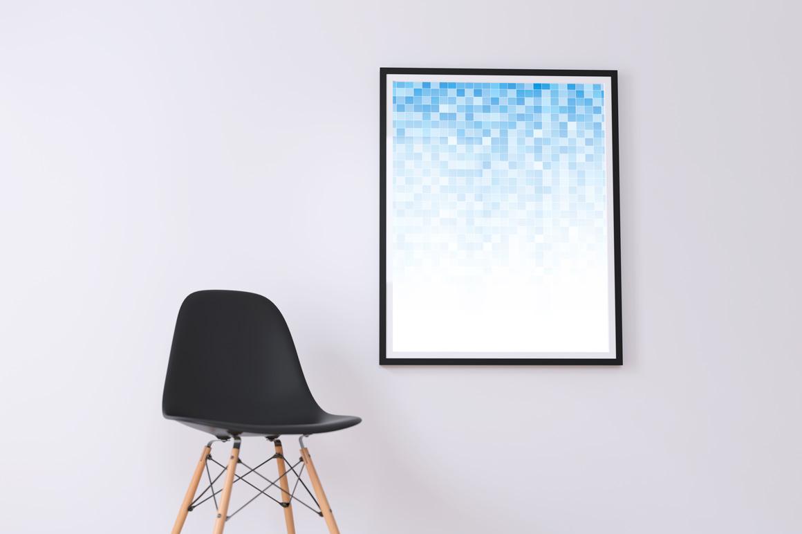 Blue mosaic digital covers,brochures example image 3
