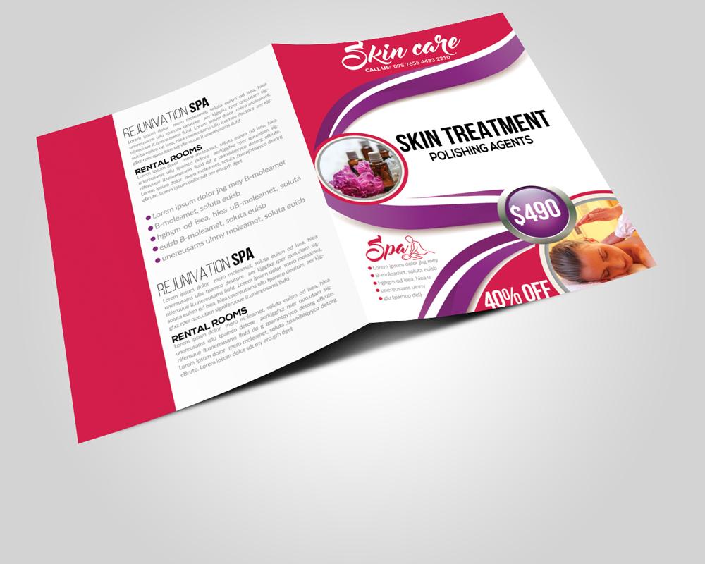 Business Bi-fold Brochures Print Templates example image 2